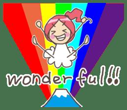 Positive URIURI English edition sticker #7402484