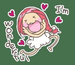 Positive URIURI English edition sticker #7402491
