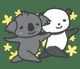 Koala & Panda sticker #7404116