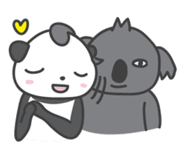 Koala & Panda sticker #7404122