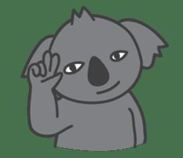 Koala & Panda sticker #7404128
