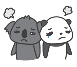 Koala & Panda sticker #7404139