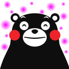 KUMAMON Sticker (English)