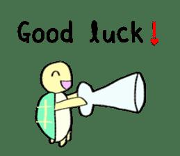 Kamechan's Message  English version sticker #7412952