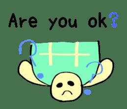 Kamechan's Message  English version sticker #7412954