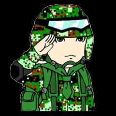 ทหารตัวเล็กน่ารัก