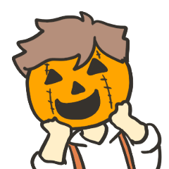 Kawaii Halloween Sticker,Osca by Lenassyi