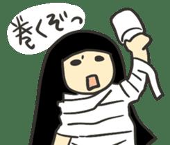 Kawaii Halloween Sticker,Osca sticker #7421889