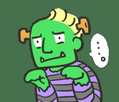Kawaii Halloween Sticker,Osca sticker #7421890