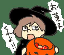 Kawaii Halloween Sticker,Osca sticker #7421891