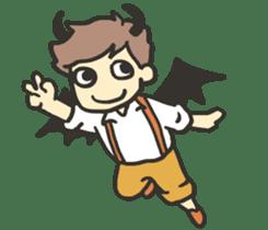 Kawaii Halloween Sticker,Osca sticker #7421892