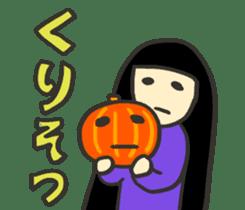 Kawaii Halloween Sticker,Osca sticker #7421903