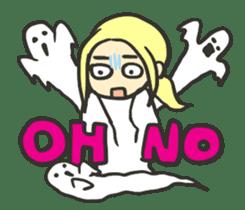Kawaii Halloween Sticker,Osca sticker #7421904