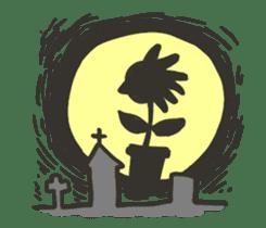 Kawaii Halloween Sticker,Osca sticker #7421905
