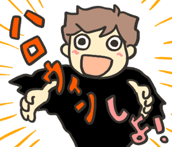 Kawaii Halloween Sticker,Osca sticker #7421909