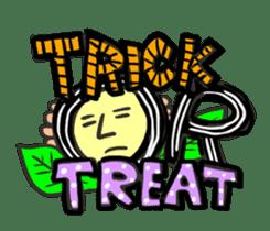 Kawaii Halloween Sticker,Osca sticker #7421916