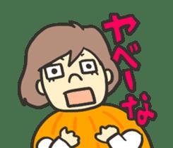 Kawaii Halloween Sticker,Osca sticker #7421920