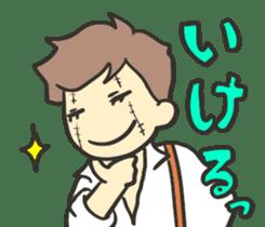 Kawaii Halloween Sticker,Osca sticker #7421921