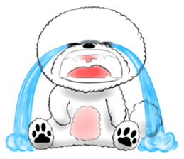 """Bichon Frise """"Noobie"""" Part II sticker #7424245"""