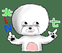 """Bichon Frise """"Noobie"""" Part II sticker #7424246"""
