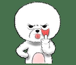 """Bichon Frise """"Noobie"""" Part II sticker #7424262"""