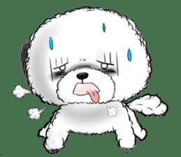 """Bichon Frise """"Noobie"""" Part II sticker #7424268"""