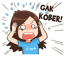 Lola Medok Suroboyoan sticker #7427738