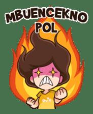 Lola Medok Suroboyoan sticker #7427745