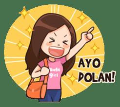 Lola Medok Suroboyoan sticker #7427748