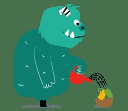 Timun Mas & The Green Monster sticker #7431325