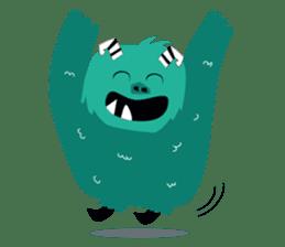 Timun Mas & The Green Monster sticker #7431327