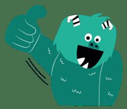 Timun Mas & The Green Monster sticker #7431330