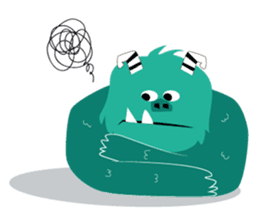 Timun Mas & The Green Monster sticker #7431335
