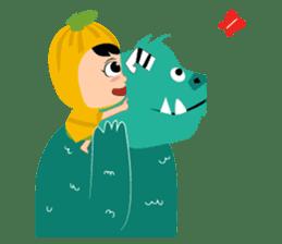 Timun Mas & The Green Monster sticker #7431337