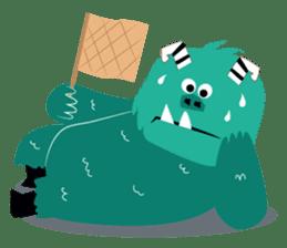 Timun Mas & The Green Monster sticker #7431339