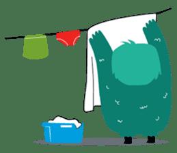 Timun Mas & The Green Monster sticker #7431342