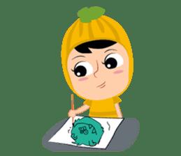 Timun Mas & The Green Monster sticker #7431343