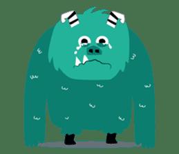 Timun Mas & The Green Monster sticker #7431346
