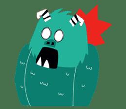 Timun Mas & The Green Monster sticker #7431347