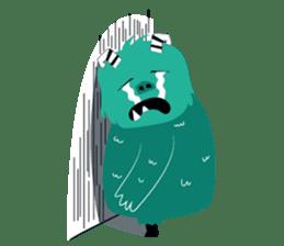 Timun Mas & The Green Monster sticker #7431348