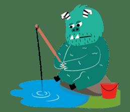 Timun Mas & The Green Monster sticker #7431353
