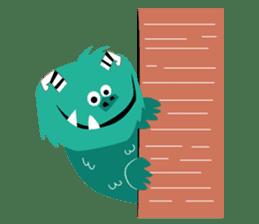 Timun Mas & The Green Monster sticker #7431354