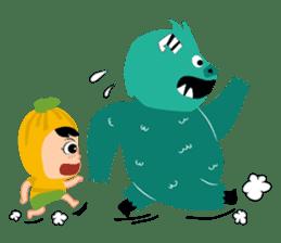 Timun Mas & The Green Monster sticker #7431357