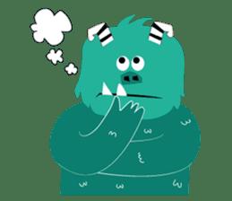 Timun Mas & The Green Monster sticker #7431359