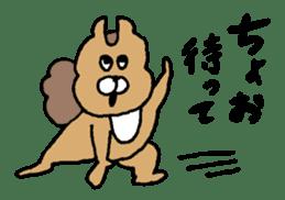 Osaka animals 2 sticker #7433121