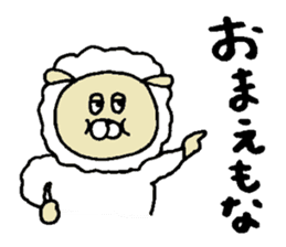 Osaka animals 2 sticker #7433123