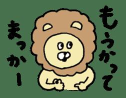 Osaka animals 2 sticker #7433129