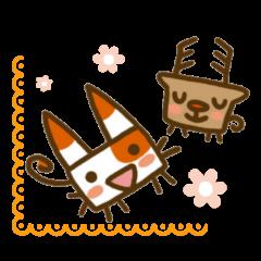 Animal sticker of  Hidari Kiki