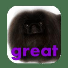 We Love Pekingese!! (English Version) sticker #7434141