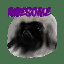 We Love Pekingese!! (English Version) sticker #7434143